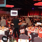 Inside the ballroom at the 26th Annual Celebrating Women®