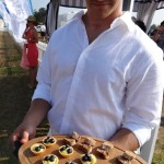 Eats at opening day Bridgehampton Polo.