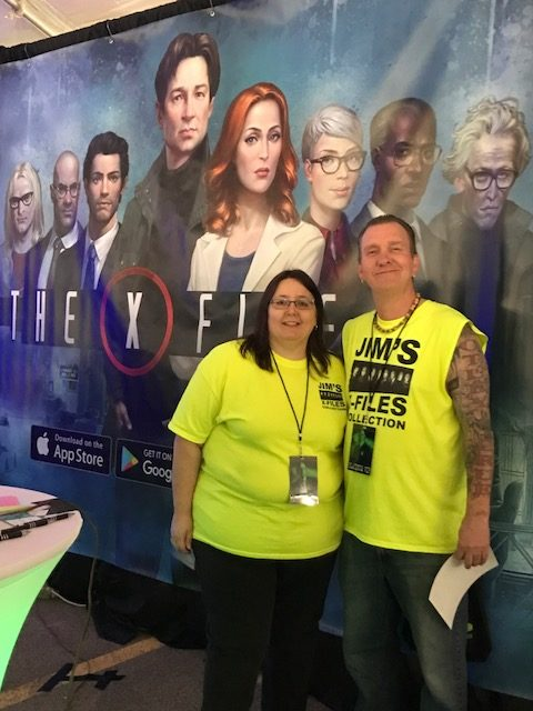 Jims X-Files Collection Guests at X-Fest 2018
